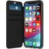 Griffin Survivor Clear Wallet, Apple iPhone XS/X, schwarz/transparent