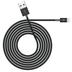 Kanex Charge/Sync-Kabel - Apple Lightning auf USB-A - 1.20m - schwarz
