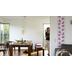 "Livingwalls selbstklebendes Panel \""Pop.up Panel\"", violett, weiss 942582 2,50 m x 0,35 m"
