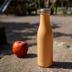 Lurch Isolier-Flasche 500ml pearl orange aus Edelstahl Thermoflasche hält bis zu 12 Stunden heiß oder kalt