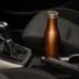 Lurch Isolier-Flasche 750ml bronze-metallic aus Edelstahl Thermoflasche hält bis zu 12 Stunden heiß oder kalt