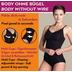 Miss Perfect Bauchweg Body Body Shaper Miederbody figurformend Anthrazit L (42)