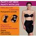 Miss Perfect Miederhose Bauchweg Unterhose Body Shaper seamless figurformend Champagner 2XL (46)