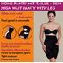Miss Perfect Miederhose Body Shaper Bauchweg Unterhose figurformend Schwarz 2XL (46)