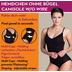 Miss Perfect Unterhemd Bauchweg Hemd Body Shaper Shaping Unterwäsche Top figurformend Schwarz L (42)