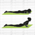 Schildkröt Fitness SK Fitness Bicolor Yoga Matte 4mm (petrol-grey) im Carrybag