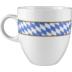 Seltmann Weiden Becher 5042 0,50 l Compact Bayern 27110 blau, gelb, rot/rosa