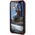 Urban Armor Gear Plyo Case, Apple iPhone XR, crimson (rot transparent)