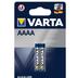 VARTA Electronics Batterie AAAA / LR61 / MN2500 / 4061 / 4961 (1.5V, 640 mAh), 2er Blister