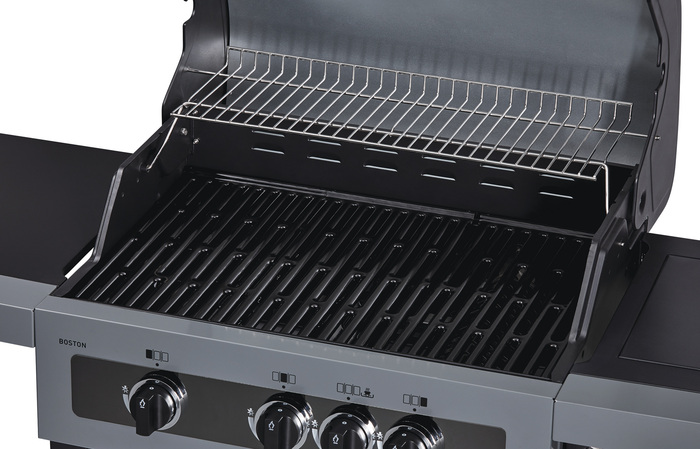 Aldi Gasgrill Boston 4 Ik : Enders gas grill