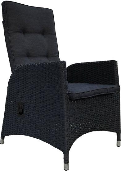 Bilder - Grasekamp 2 Stück Polyrattan Sessel mit Auflagen Gasdruck ...