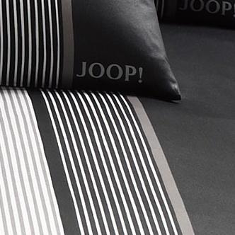 bilder joop mako satin bettw sche ornament stripe schwarz bezug 135x200 cm kissenbezug. Black Bedroom Furniture Sets. Home Design Ideas