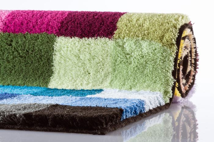 Bilder - Kleine Wolke Badteppich Cubetto Multicolor 85 cm x 145 cm ...