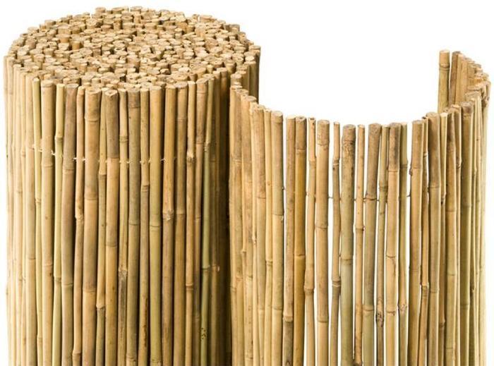 Bilder Noor Bambusmatte Bahia Bambus Sichtschutz Zaun Balkon Ca
