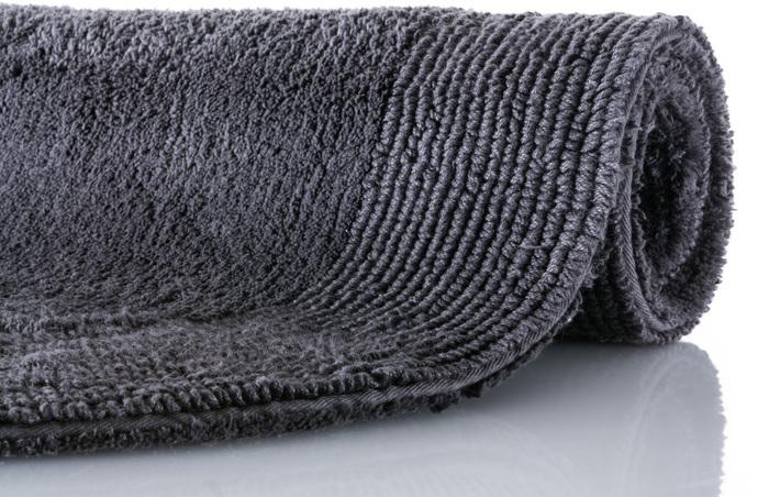 bilder rhomtuft badteppich exquisit zinn 80 cm rund standardansicht bild 1. Black Bedroom Furniture Sets. Home Design Ideas