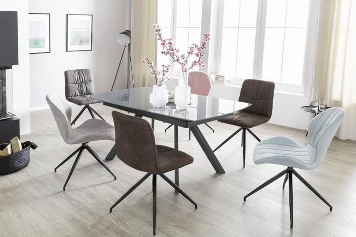 Design Esszimmerstühle bilder wohnling 2er set vintage design esszimmerstühle yuri 360
