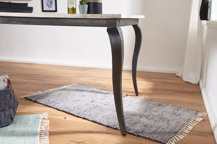 Esstisch modern design  Bilder - Wohnling Esstisch LINA Massivholz Shabby Chic 180x77x90 cm ...