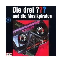 Die drei ??? 052 und die Musikpiraten (drei Fragezeichen) CD Hörspiel