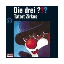 Die drei ??? 057. Tatort Zirkus (drei Fragezeichen) CD Hörspiel