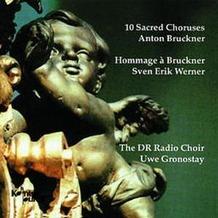 10 Sacred Choruses-Anton Bruchner,Sven Erik Werner, CD
