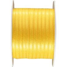Duni Seidenband gelb, 3 mm x 10 m