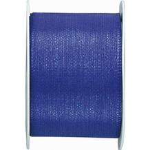 Duni Seidenband blau, 40 mm x 3 m