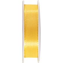 Duni Seidenband gelb, 15 mm x 3 m