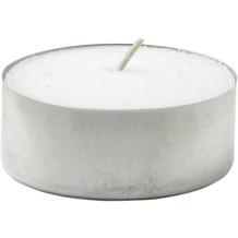 Duni Teelichte mit Metallhülse, ca. 6 Std weiß, 39 mm, 300 Stück
