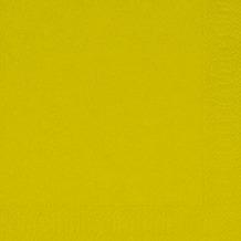Duni Servietten 3lagig Tissue Uni kiwi, 33 x 33 cm, 250 Stück