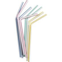 Duni Strohhalme farbig, flexibel, 40 Stück