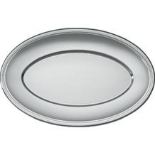 Duni Buffet Platten oval silber 45 cm , 2 Stück