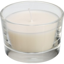 Duni Kerzenglas Ibiza. weiß