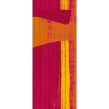 Duni Sacchetto Serviettentasche Motiv Gustav, 8,5 x 19 cm, Tissue Serviette 2lagig bordeaux, 100 Stück