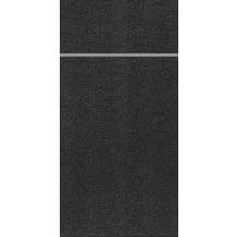 Duni Duniletto Slim Uni schwarz, 40 x 33 cm, 65 Stück