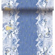 Duni Dunicel-Tischläufer 3 in 1, alle 40 cm perforiert, Motiv Silent Night, 40 cm x 4,8 m