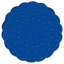 Duni Untersetzer 9lagig Tissue Uni dunkelblau, 25 Stück
