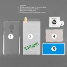 """4smarts 360° Premium Protection Set """"Case Friendly"""" mit Colour Frame Glas für Samsung Galaxy S10e schwarz"""