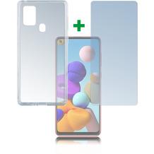 4smarts 360° Protection Set für Samsung Galaxy A21s transparent