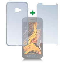 4smarts 360° Protection Set für Samsung Galaxy Xcover 4s transparent