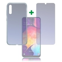 4smarts 360° Protection Set Limited Cover für Samsung Galaxy A50 transparent