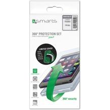 4smarts 360° Protection Set Limited Cover für Samsung Galaxy J5 (2017) - transparent