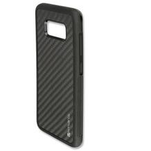 4smarts Clip-On Cover Trendline Carbon für Samsung Galaxy S8 schwarz