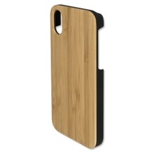 4smarts Clip-On Cover Trendline Wood für Apple iPhone X bambus
