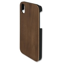 4smarts Clip-On Cover Trendline Wood für Apple iPhone X walnuss