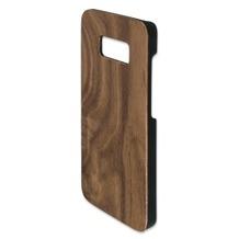 4smarts Clip-On Cover Trendline Wood für Samsung Galaxy S8 walnuss