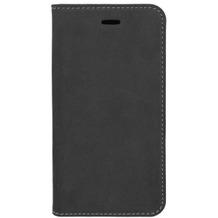4smarts Flip-Tasche Trendline Genuine Leather mit Soft Cover für Apple iPhone 8 / 7 schwarz