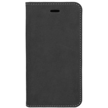 4smarts Flip-Tasche Trendline Genuine Leather mit Soft Cover für Apple iPhone X schwarz