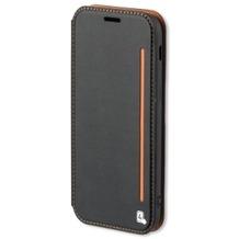 4smarts Flip-Tasche TWO-TONE für Samsung Galaxy S8+ schwarz/orange