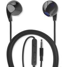 4smarts In-Ear Stereo Headset Melody 3,5mm Audiokabel 1,2m schwarz