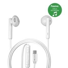 4smarts In-Ear USB-C Stereo Headset Harmony 1,1m Passiv weiß